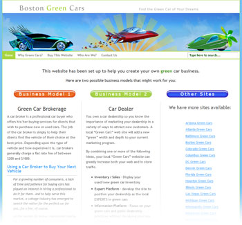 Boston Green Cars image