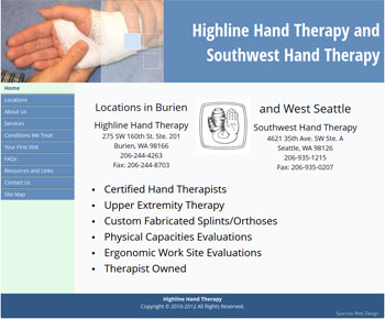 Highline Hand Therapy image